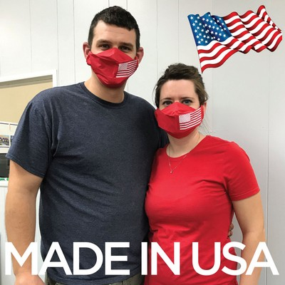 6 Ply Disposable Face Masks - PRINTED - 2 to 3 DAY PRODUCTION - USA MADE